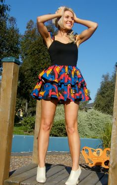 Daffy Duck dress :)