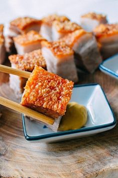 18 Must-Try Chinese Pork Belly Recipes | The Woks of Life Chinese Pork Belly Recipe, Roasted Pork Belly Recipe, Chinese Roast Pork, Pork Roast, Crispy Pork Belly Recipes, Crispy Pork Skin Recipe, Sliced Pork Belly Recipe, Pork Belly Roast, Roast Gravy