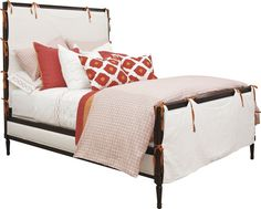 Hickory Chair - Candler Queen Bed - 1554-10