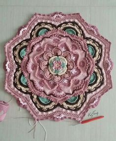 Mandala Madness -  Free Pattern on Ravelry