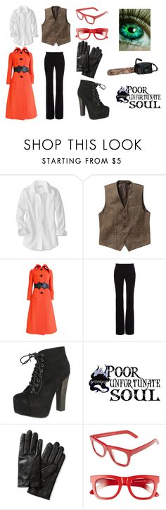 """""""gRELL sUTCLIFF"""" by emmysutcliff ❤ liked on Polyvore featuring Pierre Cardin, Alexander McQueen, Breckelle's, Disney, Banana Republic and RetroSuperFuture"""