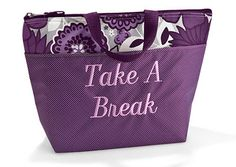 https://www.mythirtyone.com/girlslovebags Thermal Tote in Plum Awesome Blossom   Thirty One Gifts