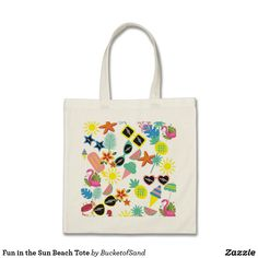 Fun in the Sun Beach Tote