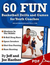 60 Fun Youth Basketball Drills: How to Make Basketball Practice Fun!