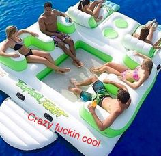 Creating your lifestyle. Living is all about pushing the limit. This floaty is the most. Amazing and incredibly creative. And most importantly a lot of fun!! CRAZY FUCKIN COOL. #lifestyle #doU #createYOURspace