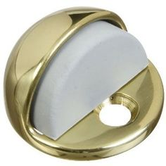 Floor Door Stop with Rubber Bumper, Solid Brass by Brainerd Manufacturing. $0.01. Save 100% Off!