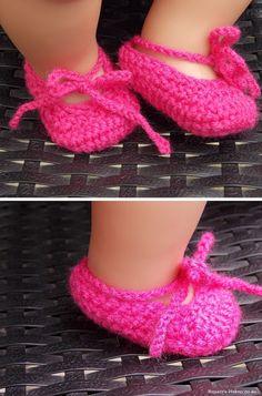 Schoentjes voor BabyBorn pop