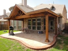Shed with Gable Patio Covers Gallery - Highest Quality Waterproof Patio Covers in Dallas, Plano and Surrounding Texas Tx. Shed with Gable Patio Covers Gallery - Highest Quality Waterproof Patio Covers in Dallas, Plano and Surrounding Texas Tx. Casa Patio, Patio Roof, Pergola Patio, Pergola Plans, Pergola Kits, Pergola Ideas, Porch Roof Design, Cheap Pergola, Garage Design