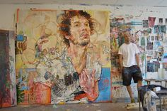 Andrew Salgado Wants You to Leave and Let Him Paint in Peace by Devin Pacholik | NOISEY