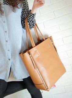 Brown Messenger Satchels Bag $44.00 Fashion Bags, Fashion Outfits, Womens Fashion, More Cute, Womens Tote Bags, Leather Backpack, Korean Fashion, Street Style, Backpacks