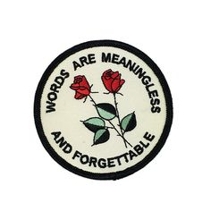 FORGETTABLE PATCH ($4.99) ❤ liked on Polyvore featuring fillers, patches, accessories and jewelry