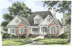 Eplans Country House Plan - Elegant and Flexible - 2194 Square Feet and 4 Bedrooms from Eplans - House Plan Code HWEPL10998