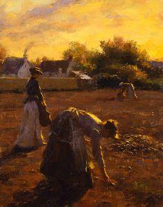 Héraldie: Americana artista pintor Gregory Frank Harris