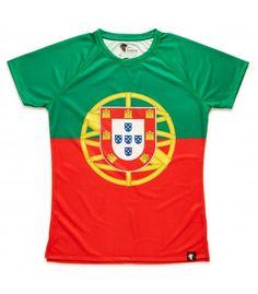 camiseta running mujer Portugal Hoopoe Running Apparel