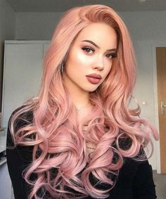 Long Ash Blonde Hair - 20 Best Long Hairstyles for Women of All Ages 2019 - The Trending Hairstyle Long Thin Hair, Long Curly Hair, Curly Hair Styles, Trending Hairstyles, Wig Hairstyles, Straight Hairstyles, Hair Color Pink, Pink Hair, Hair Colors