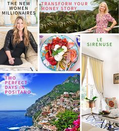Behind the Divine! Check out what's in the NEW Perfectly Positano Issue!!