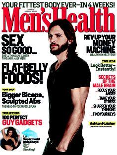 December 2011  Cover guy: Ashton Kutcher