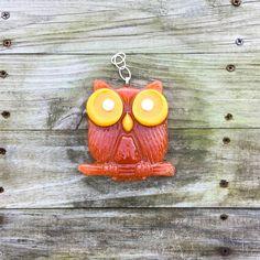 Owl Petal Suncatcher personalized with your flower petals