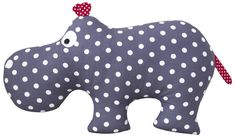 """Kuscheltiere - the hippo """"HUGO"""" - ein Designerstück von LittleOne-by-Rachel-McC. Baby Sewing Projects, Sewing For Kids, Sewing Crafts, Fabric Toys, Fabric Crafts, Sock Animals, Sewing Dolls, Diy Toys, Handmade Toys"""