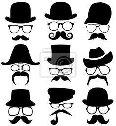 moustache/hats/ awsome