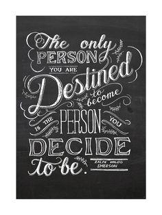 Emerson Quote Art Print by Amanda Paulson   Minted