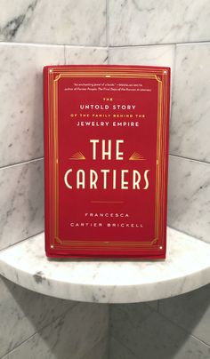 The Cartiers by Frncesca Cartier Brickell - - Book Club Books, New Books, Good Books, Books To Read, Book Clubs, Reading Stories, Reading Groups, Coffee Table Art Books, Cartier Jewelry