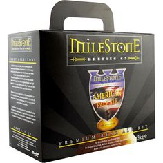 Milestone Brewery American Pale Ale real ale kit by Beer Kits, Green Man, Home Brewing, Brewery, Ale, Etsy, American, Ale Beer, Home Brewing Beer