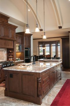 Kitchen in NSL, Utah by Cameo Homes Inc.