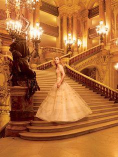 Natalia Vodianova by Annie Leibovitz for Vogue US November 2014