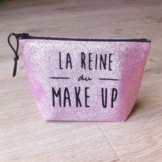 """Trousse à maquillage """"La reine du make-up"""" : Trousses par gigie-bricole"""