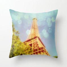 Decorative Photographic Pillow Vive la France by MScottPhotography, $36.00