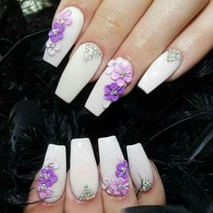 latest nail art designs 2016 Pepino Nail Art-latest nail art designs 2016 This entry was posted in Coffin Nail Art Designs and tagged coffin nail art designs, coffin nails coffin nails design 3d Nail Art, 3d Acrylic Nails, 3d Nails, Nail Arts, Cute Nails, Coffin Nails, 3d Flower Nails, Flower Nail Designs, Purple Nail Art