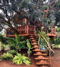 Baumhaus Planning is Made Easier Through a Collection of Great Tree House Books - Life ideas Your Ma Beautiful Tree Houses, Cool Tree Houses, Tree House Designs, Tiny House Design, Backyard Treehouse, Treehouse Ideas, Treehouse Living, Tree House Plans, Tree House Homes