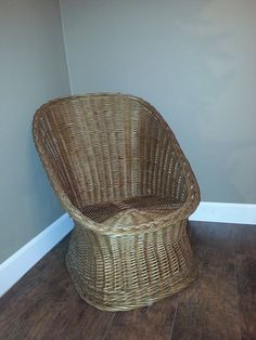 vintage wicker patio furniture. Vintage Wicker Chair - Handmade Natural Willow Patio Furniture Woven E