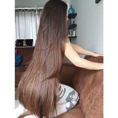 Beautiful Long Hair, Gorgeous Hair, Amazing Hair, Long Hair Cuts, Long Hair Styles, Silky Smooth Hair, Super Long Hair, Free Hair, Hair Pictures