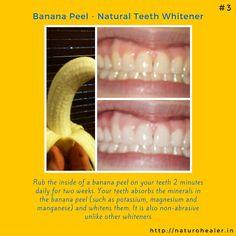 Banana Peel Teeth Whitening