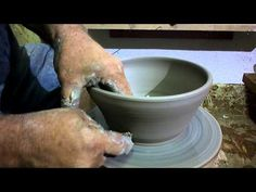 Pottery for Beginners - How to Make a Βowl  ep 04