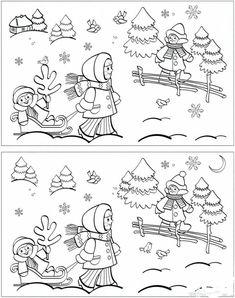 ideenreise   vorschule weihnachten, vorschulblätter, rätsel für kinder