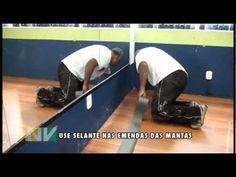 Manual instalação piso vinílico Vinifibra Vedovati