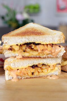 Want to know how to make your grilled cheese even better? Stuff it with Animal Style fries!