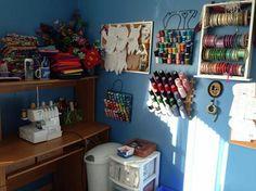 Jakob's Ladder #organization #sewingroom