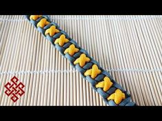 XOXO Bar Paracord Bracelet Tutorial - YouTube