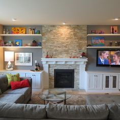 -TV seems appropriately sized and like it wall mounted, with no base showing