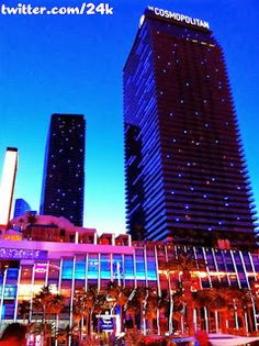 3/11/12 - This week's winner goes to @ 24k for his picture of @The Cosmopolitan of Las Vegas at sunset. This is one of the best pictures I've seen of the actual @The Cosmopolitan of Las Vegas building.  Both towers and the casino exterior are captured in the shot all lit up.  Since the picture was taken as the sun was going down, you still get to see the silhouette of the back tower which, like the Luxor, can virtually disappear at night.  I love this picture, I love the @The Cosmopolitan of…