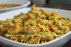 FLAVOURS UNLIMITED .......Eat Well To Stay Well: Prawns Pulao or Prawns Biryani