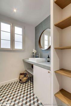 Salle de bain Projet Crimée, Paris, Transition Interior Design