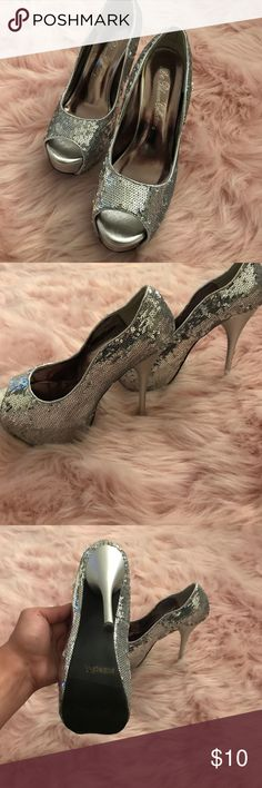 Sparkly heels Great for prom, homecoming, or costume de blossom collection Shoes Heels