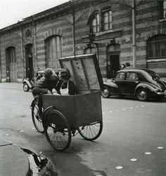 Robert Doisneau, Paris street life