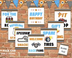 Great for Hot Wheels Party, Mario Kart Party, Disney Cars Party, Blaze Birthday and all racing fans! Get yours at Kids Party Works! Hot Wheels Party, Hot Wheels Birthday, Hot Party Outfits, Party Outfit For Teen Girls, Auto Party, Race Car Party, Disney Cars Party, Free Printable Invitations, Party Printables