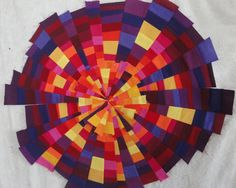A Burst of Colour - A Work in Progress